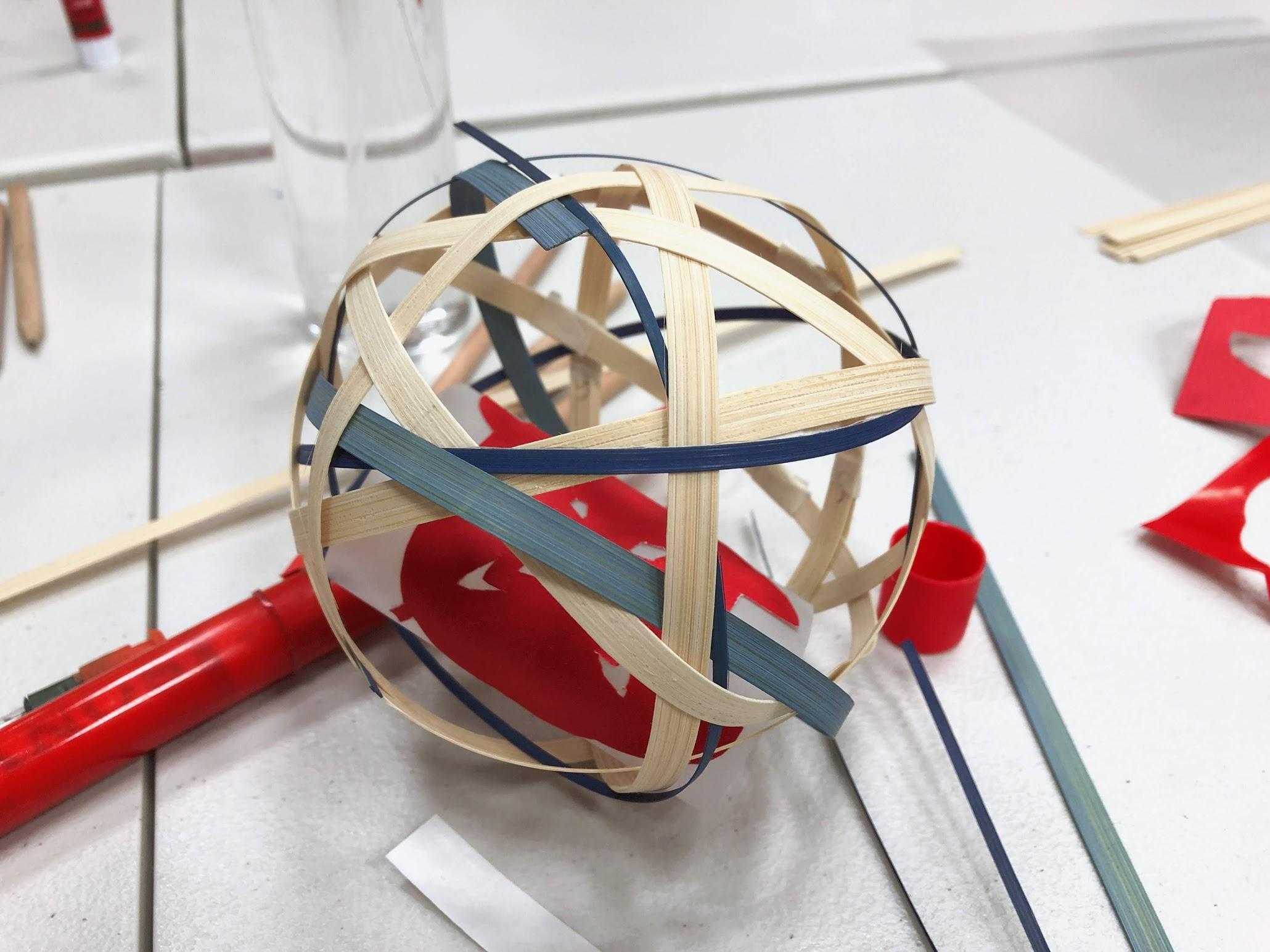 手作竹編燈籠-匠藏工坊手作課程