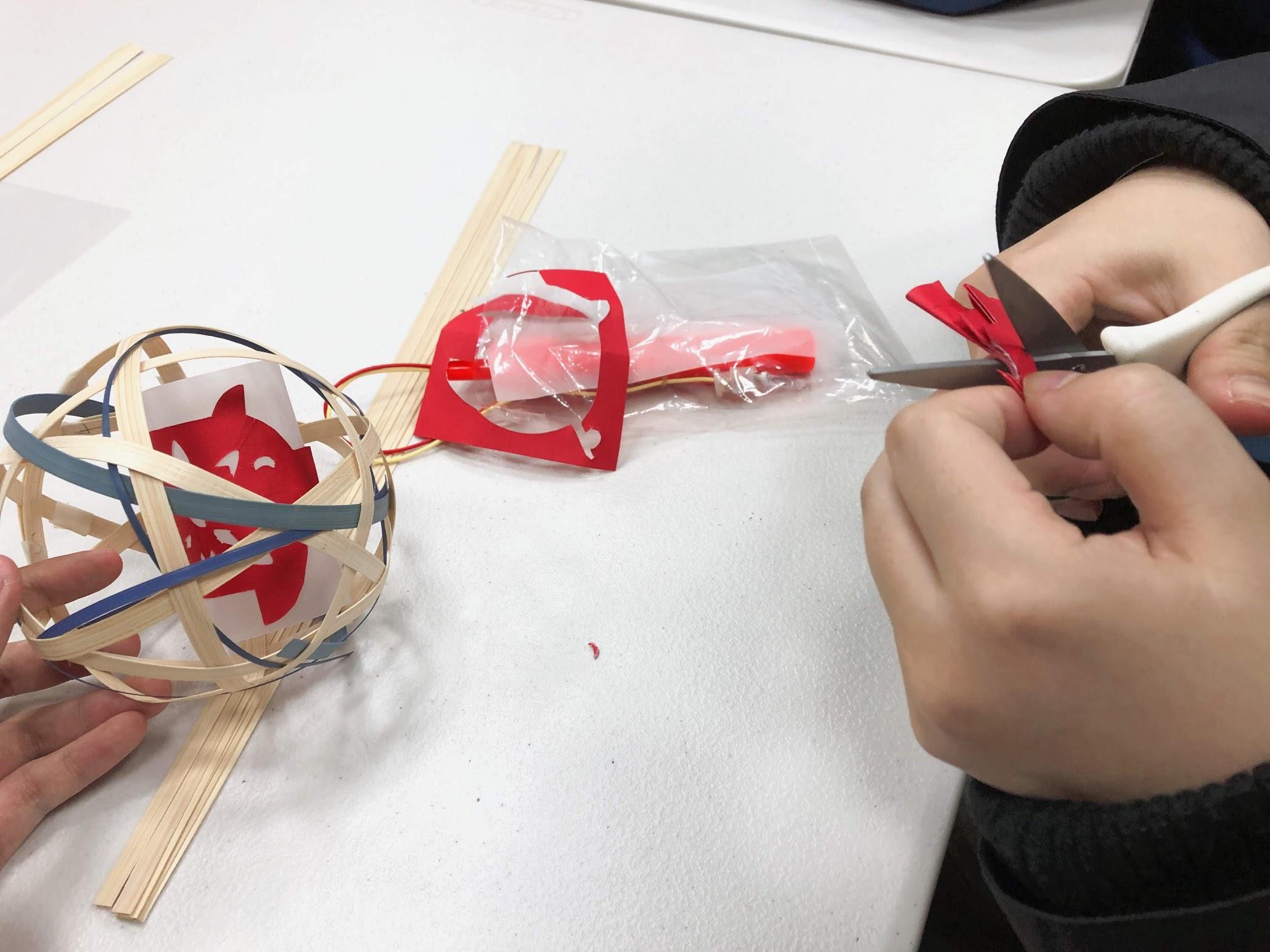 DIY手作竹編燈籠