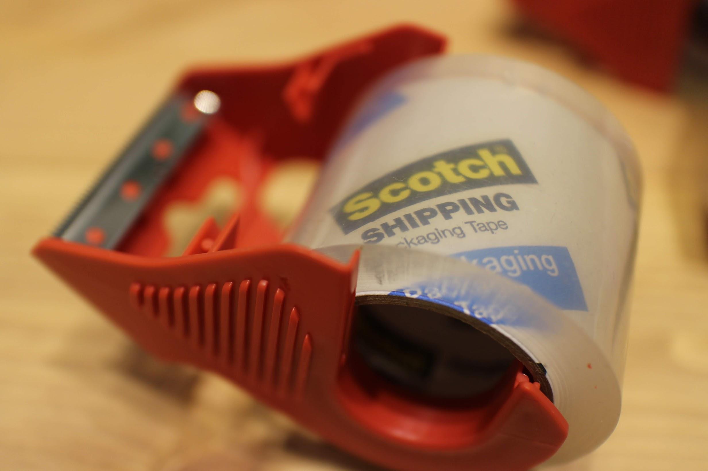 (3M Scotch)3M封箱膠帶推薦,好用強力透明膠帶使用心得分享 @秤瓶樂遊遊