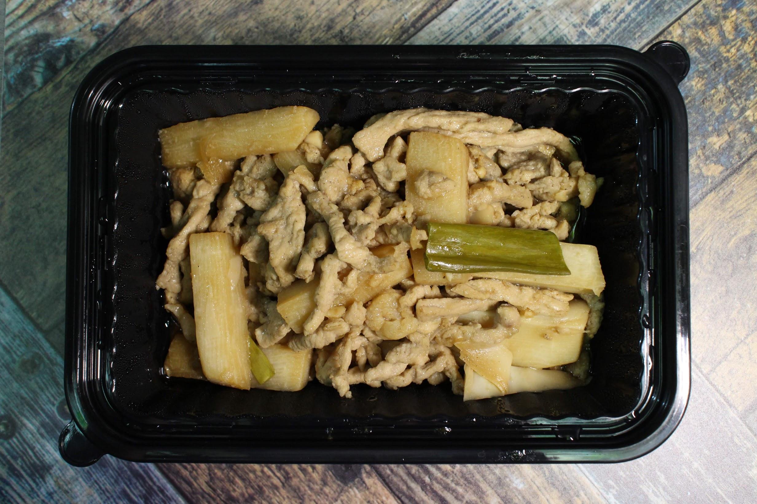 竹筍炒肉絲-小家庭晚餐宅配
