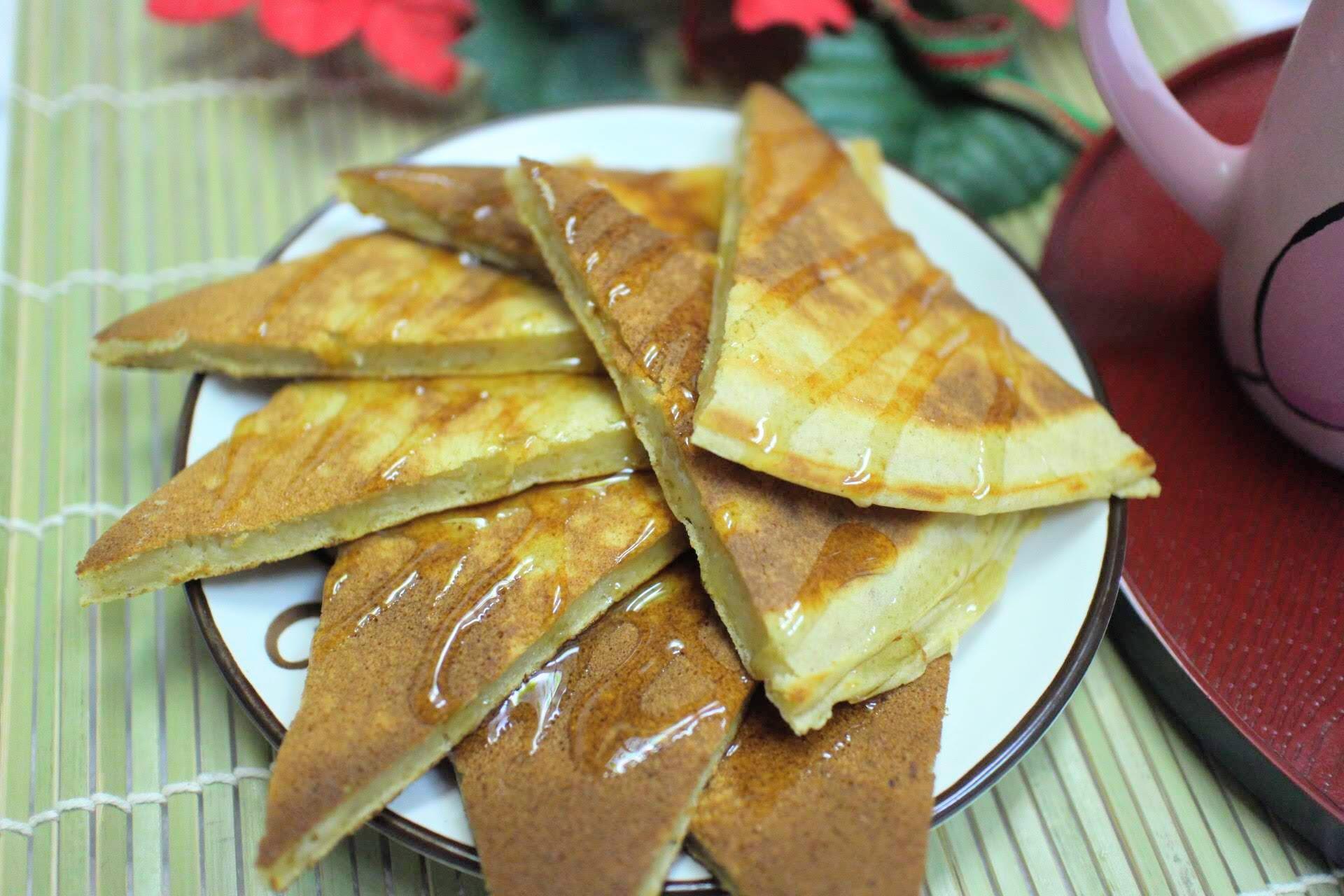糙米麩楓糖鬆餅
