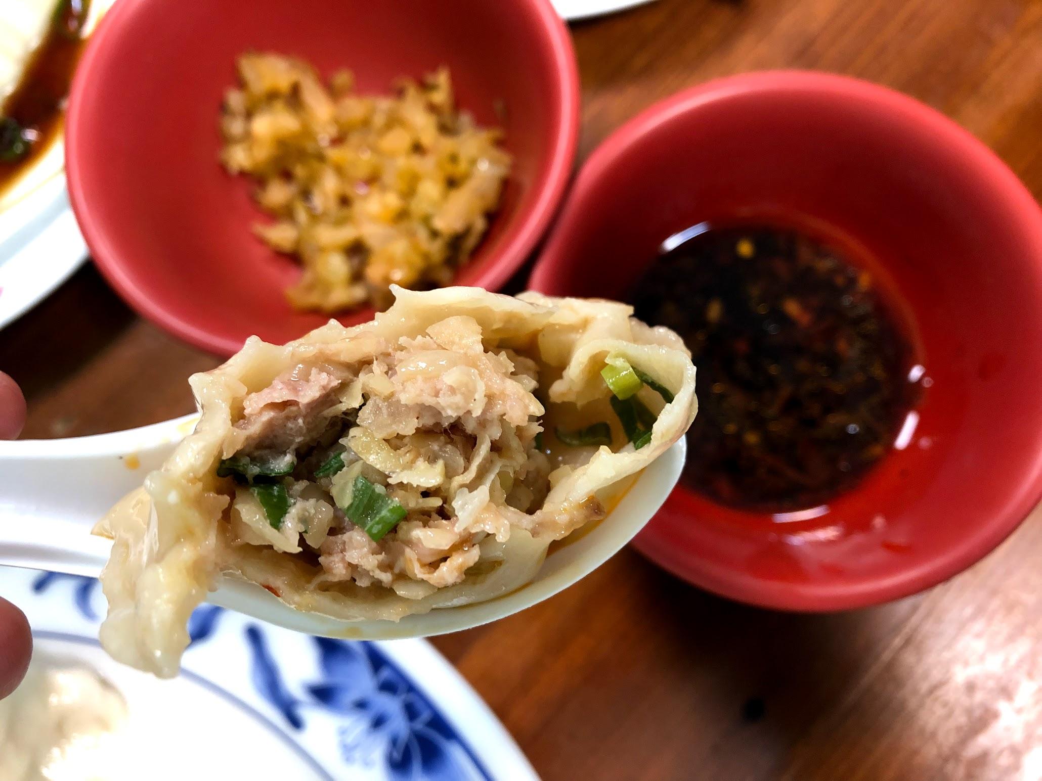 張記牛肉麵-豬肉水餃