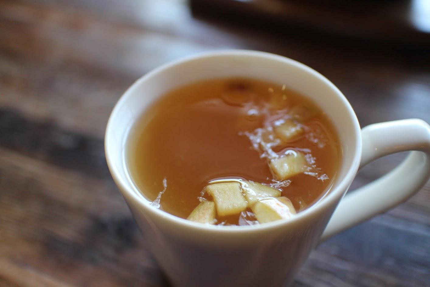 中壢聚餐好地方-特調蜂蜜鮮果茶