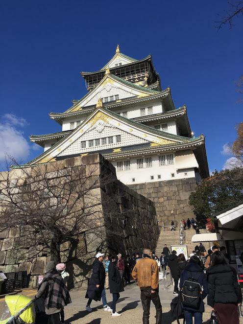大阪周遊券-大阪城天守閣