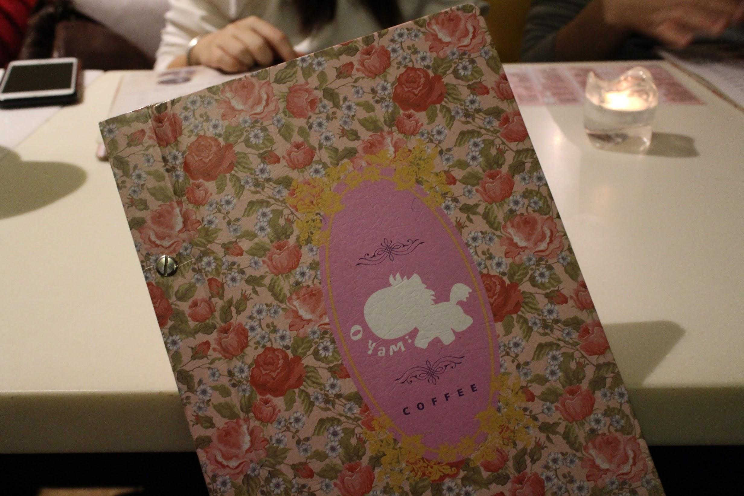 oyami cafe菜單