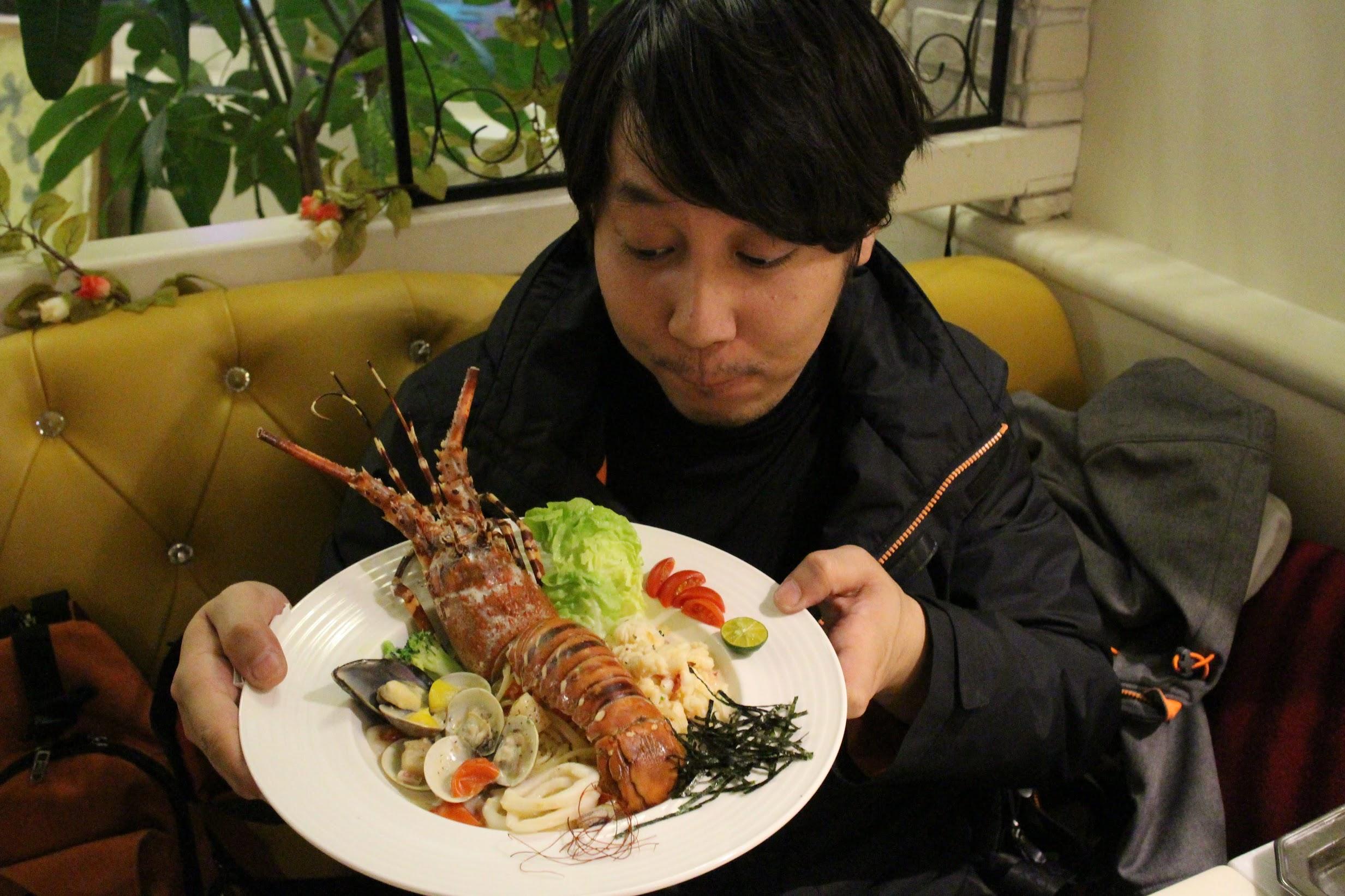 西門町義大利麵-龍蝦