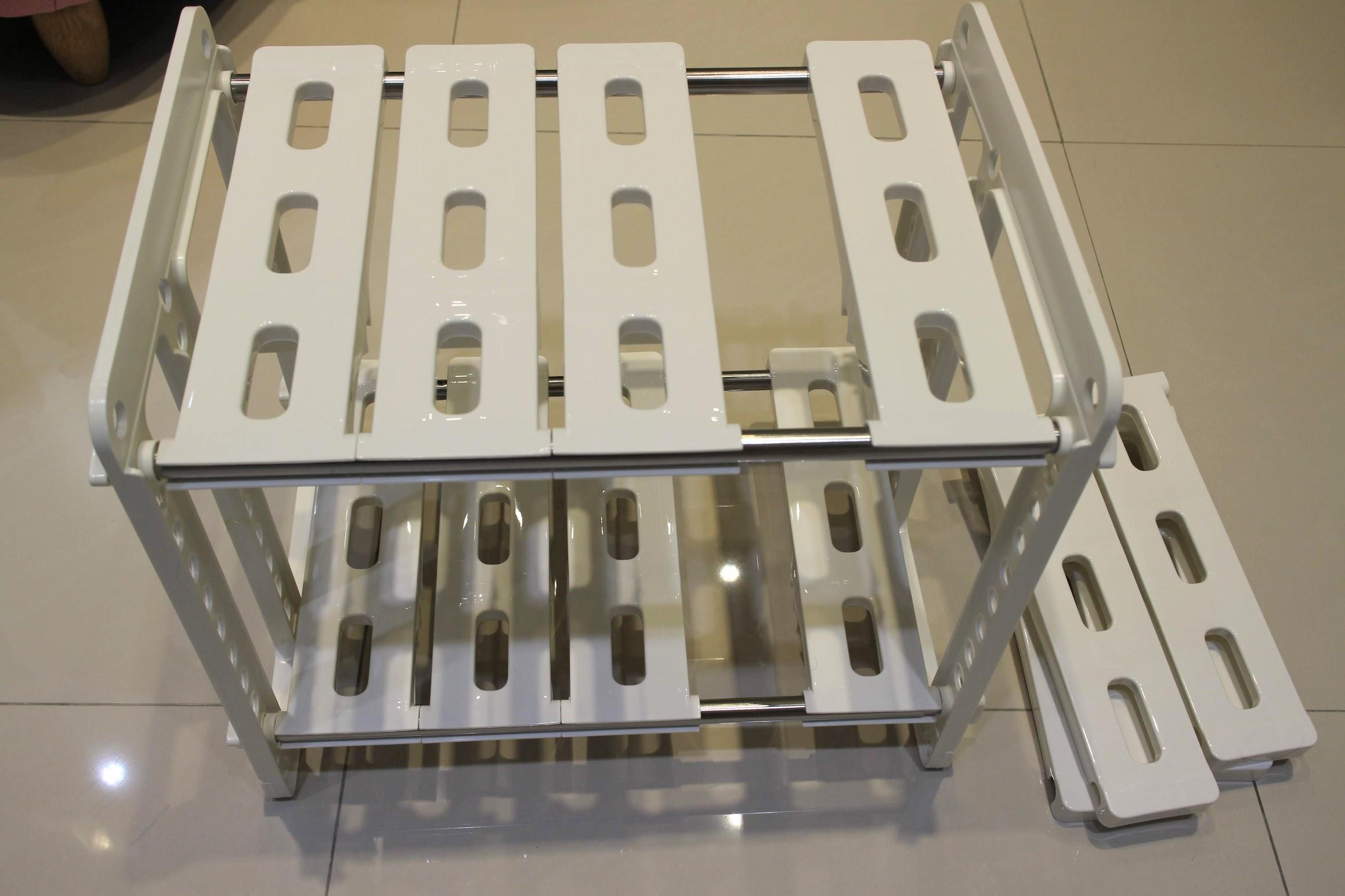 特力屋多瓦可調式櫥櫃置物架