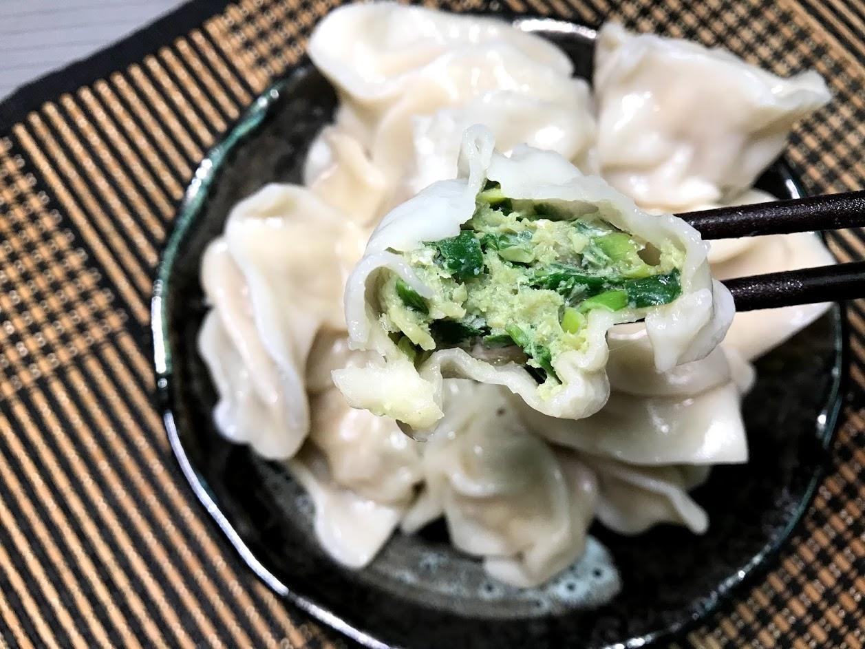 坤伯傳家餃-韭菜