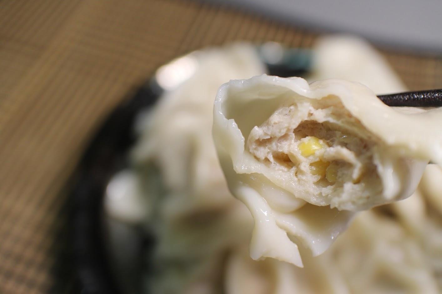純手工水餃-玉米