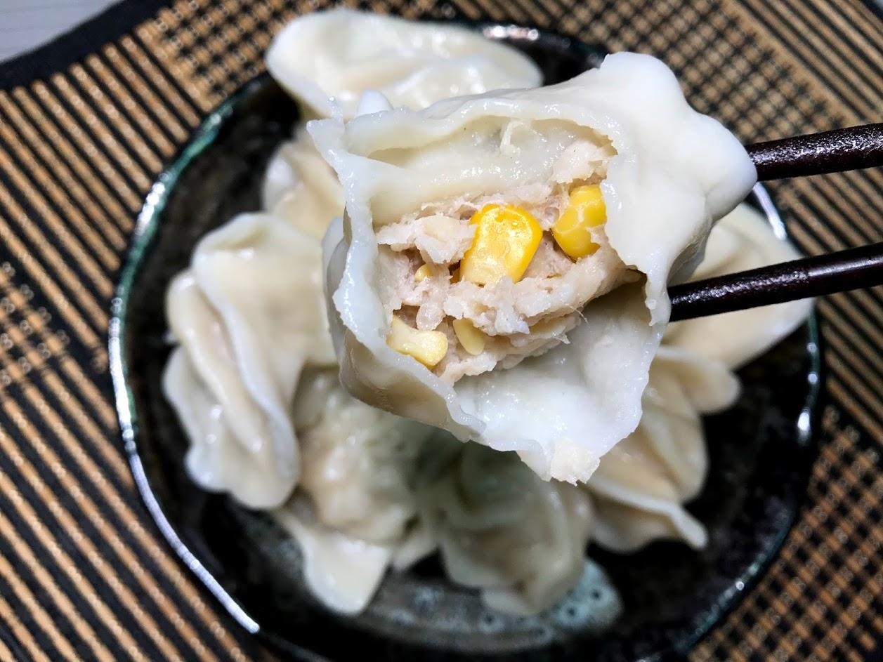 坤伯傳家餃-玉米