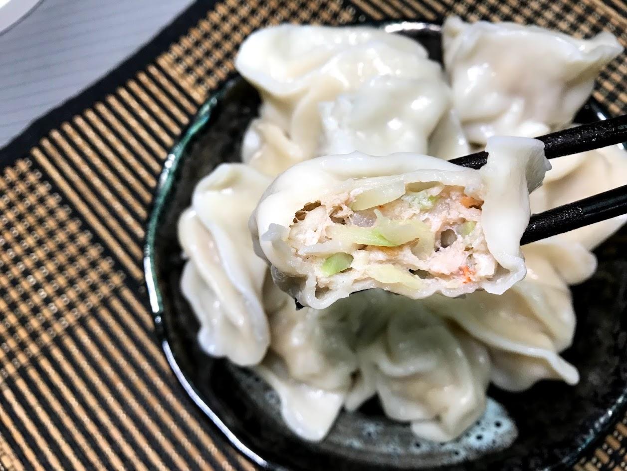 坤伯傳家餃-櫻花蝦瓠瓜水餃