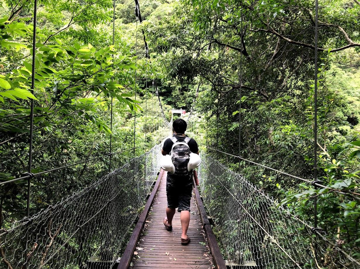 花蓮秘境景點【錐麓古道】Uniquefun由你玩-夠膽跟團體驗美麗又驚險的古棧道嗎 @秤瓶樂遊遊