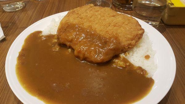 板橋車站地下街美食,台北好吃咖哩【COCO壱番屋】咖哩愛好者有口福搂 @秤瓶樂遊遊