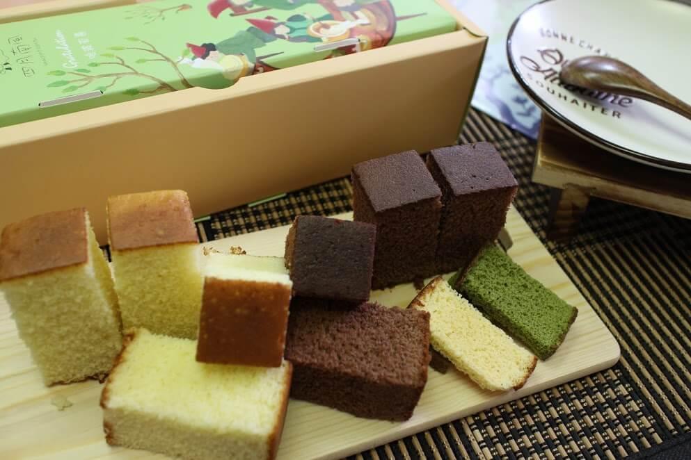 【台中四月南風】彌月蛋糕試吃-小紅帽雙拼彌月禮盒、愛心檸檬輕乳酪蛋糕 @秤瓶樂遊遊