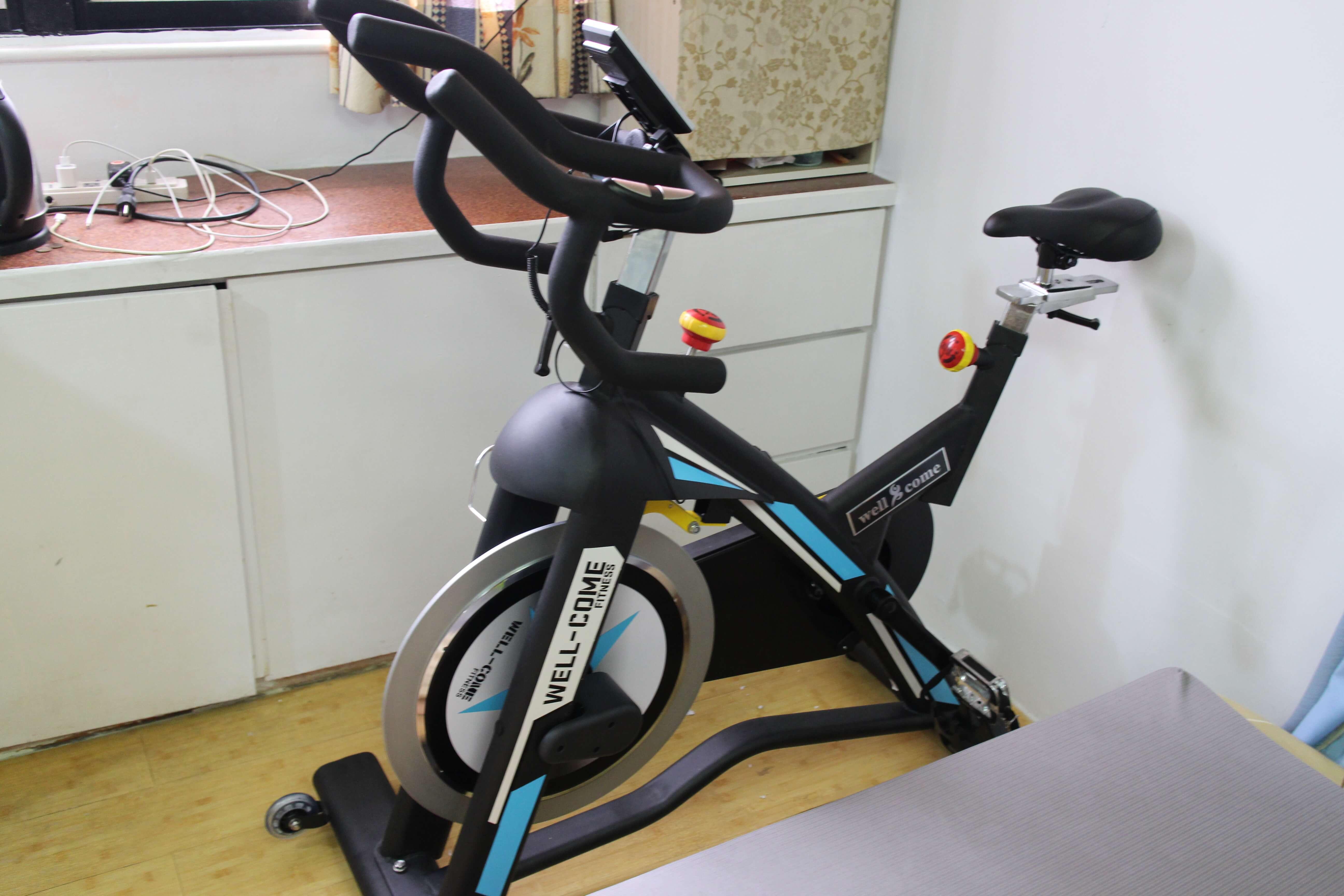 居家健身好方便【好吉康】磁控煞車雙合金磁控飛輪車-在享受簡單健身的同時也能兼顧安全(體驗文) @秤瓶樂遊遊