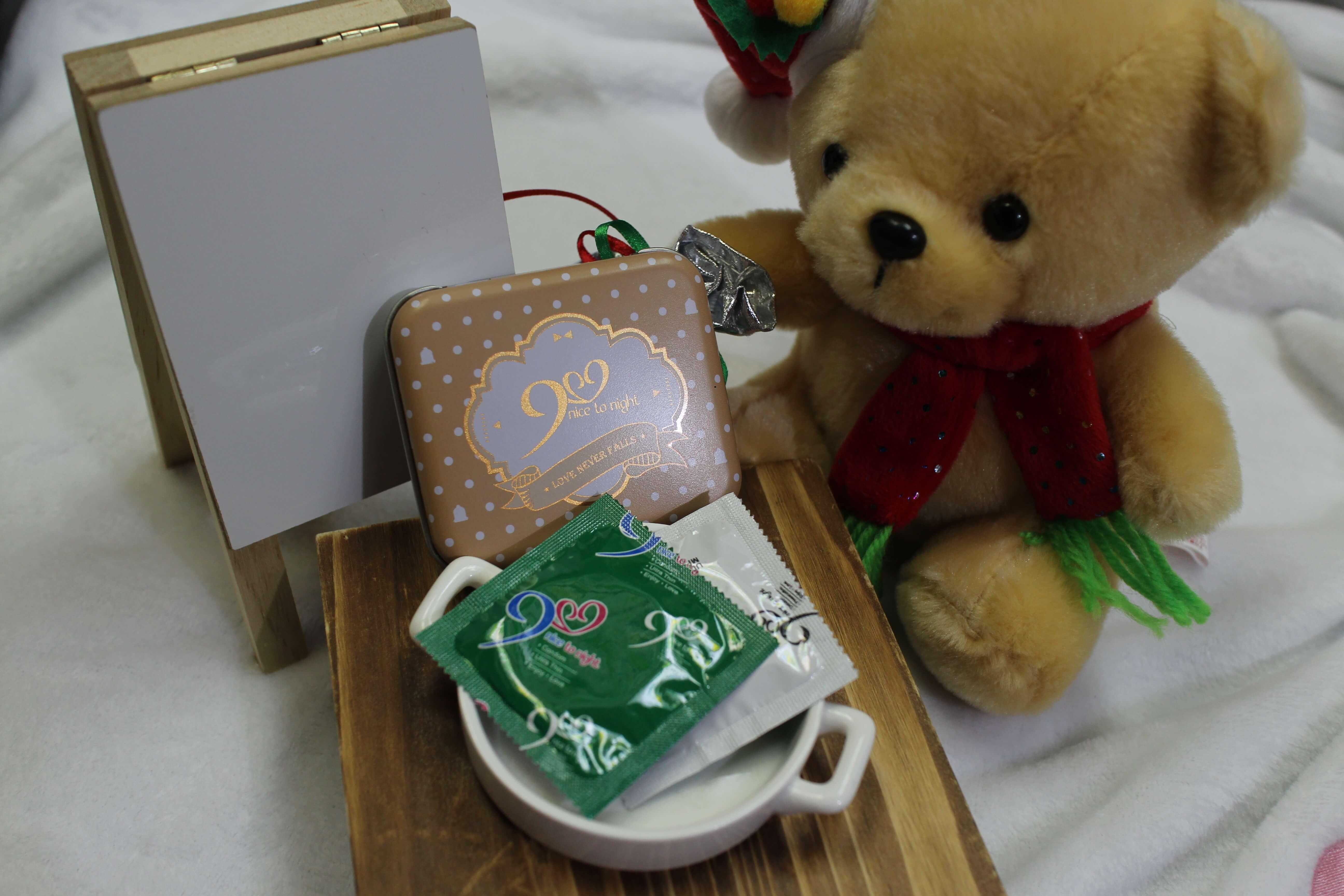 【929葛洛力】可愛小鐵盒包裝,超潤薄型保險套(18未滿請勿點閱) @秤瓶樂遊遊