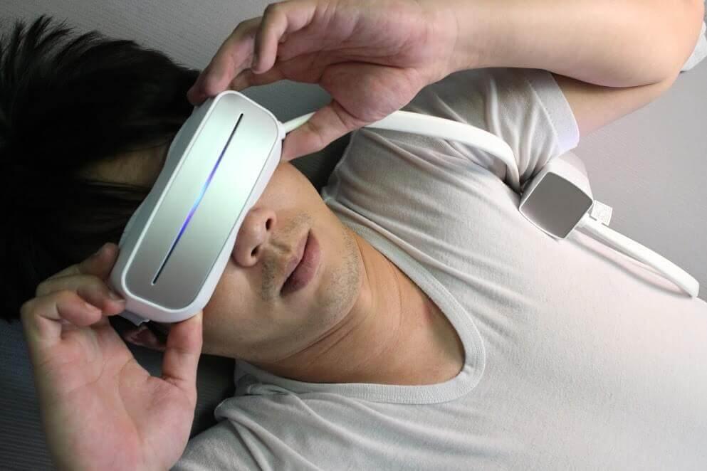 超神奇!【AURAI】水波式按摩眼罩!冷敷熱敷一台搞定!輕輕鬆鬆在家也能眼部舒壓 @秤瓶樂遊遊