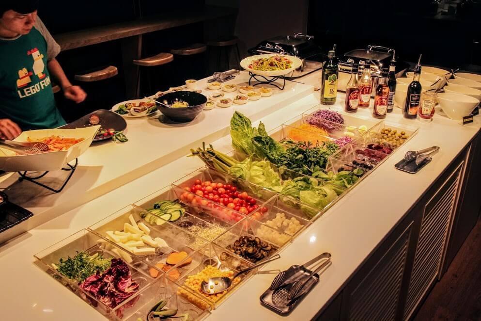 台北平價吃到飽-52輕食buffet Salad Bar,松江南京美食聚餐好地方,健康輕食沙拉吧吃到飽 @秤瓶樂遊遊