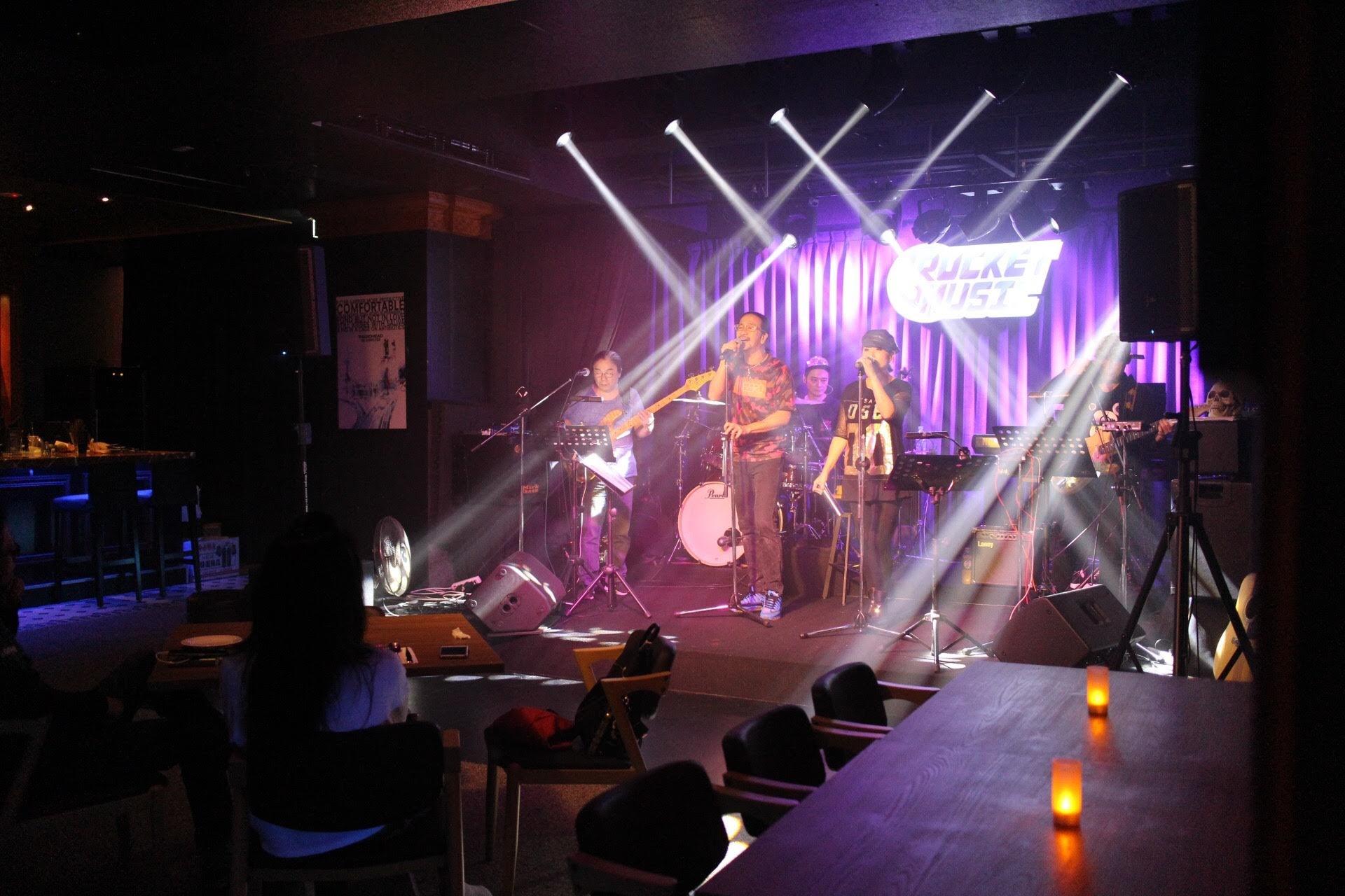 【音樂火箭餐廳】台北中山區餐酒館,聚餐好地方!讓駐唱歌手點燃心中的音樂魂 @秤瓶樂遊遊