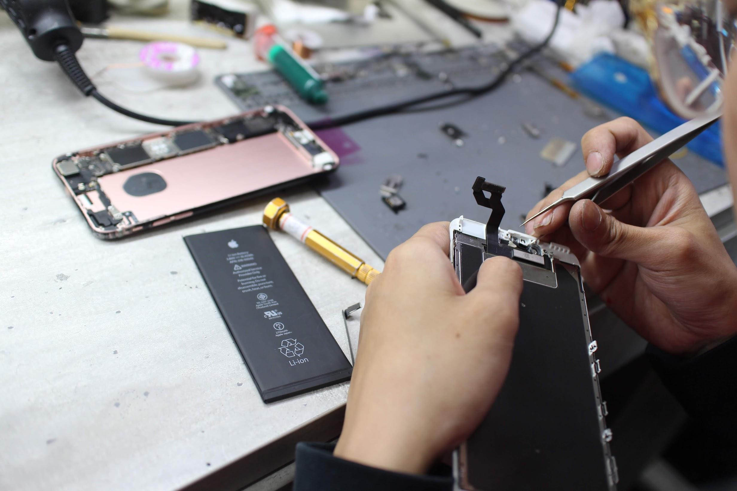 新竹iphone維修推薦【膜幻鎂機】現場手機修理、換電池、換螢幕 (平板電腦、手機快速維修) @秤瓶樂遊遊