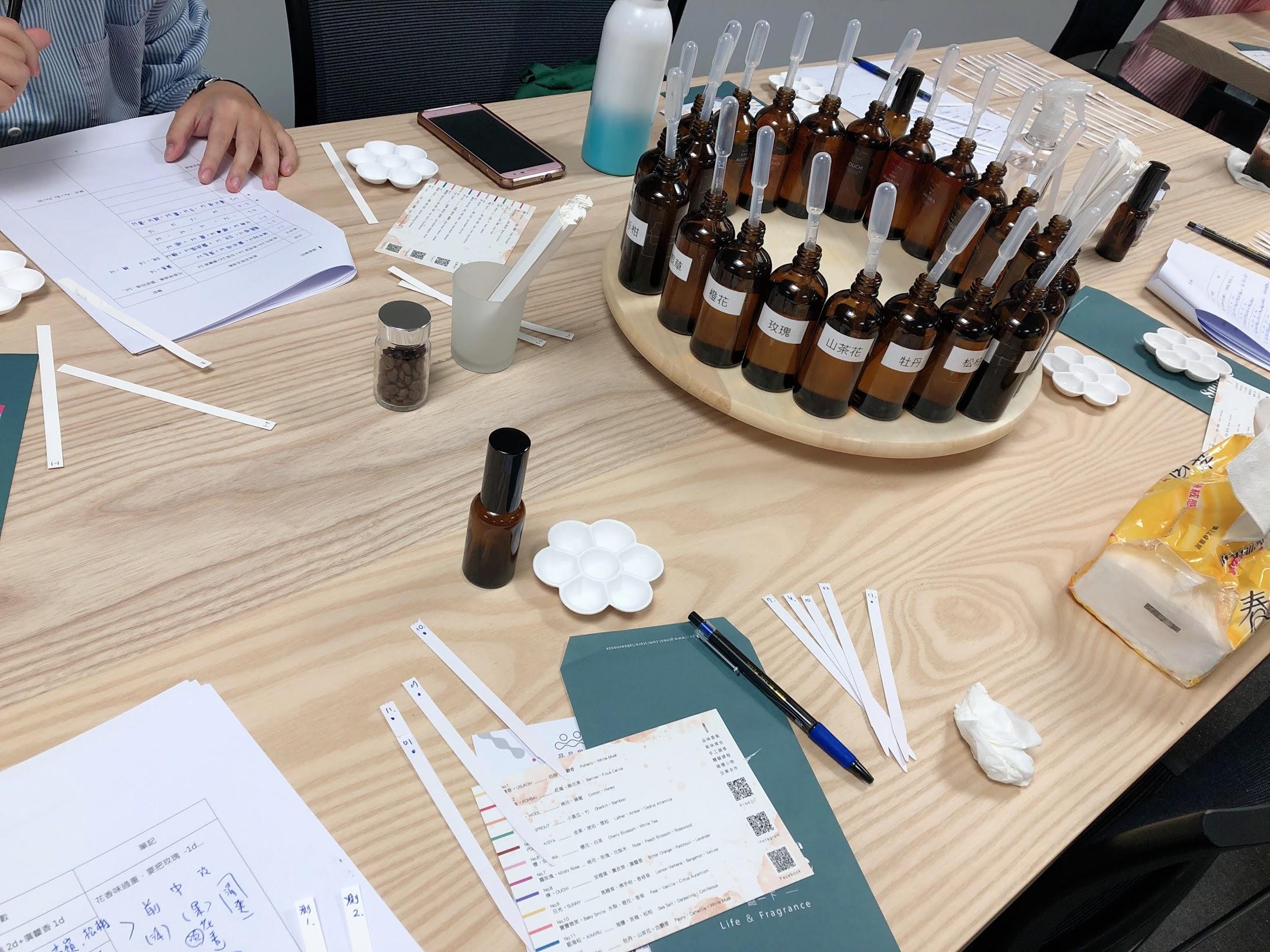 【Pinkoi品品學堂 X Take a Snooze瞇一下】調製香水課程初體驗,一次就成功調出好味道 @秤瓶樂遊遊