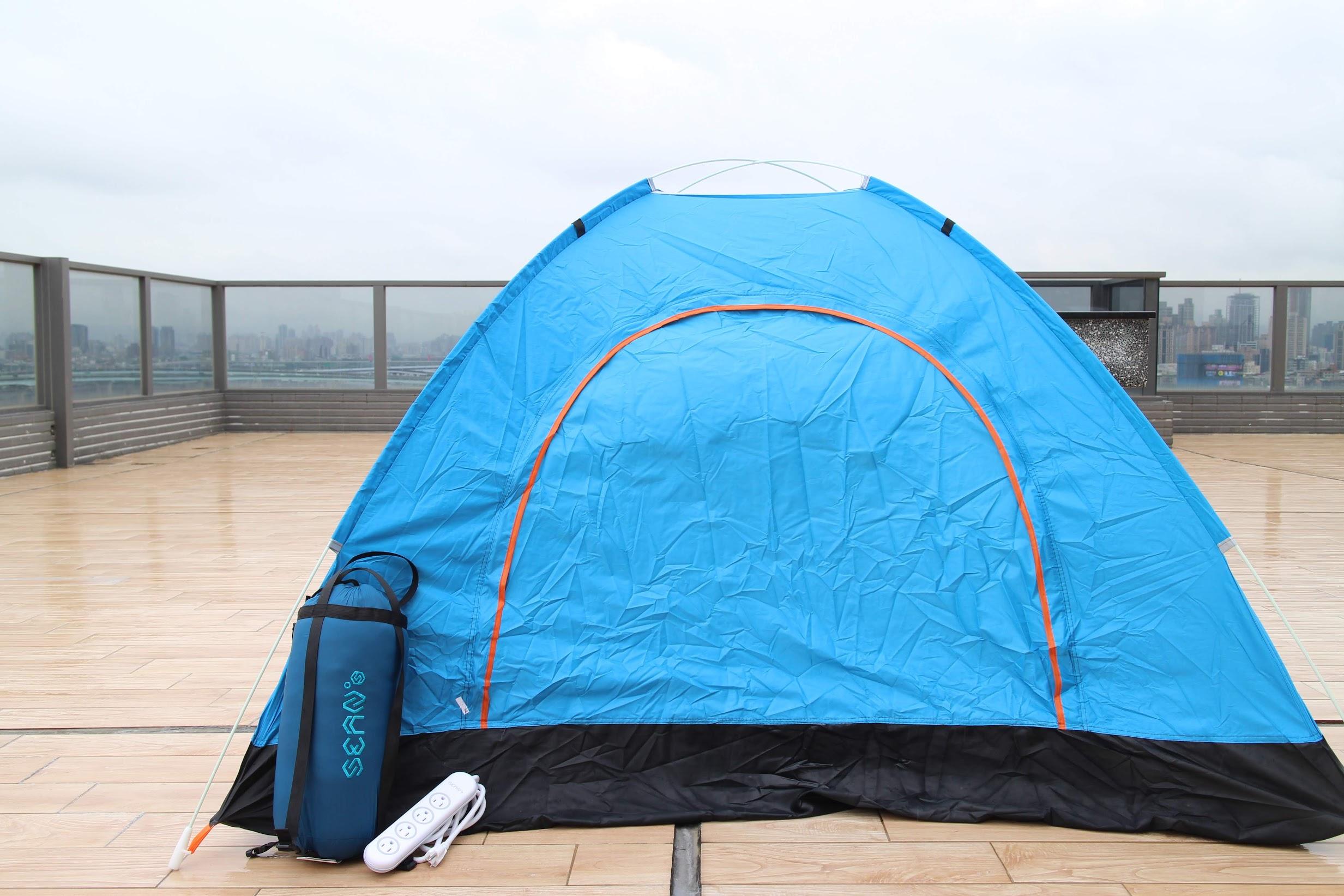 SEAN's羽絨睡袋(SNSL620信封型)、防潑水延長線推薦-露營新手必備 @秤瓶樂遊遊