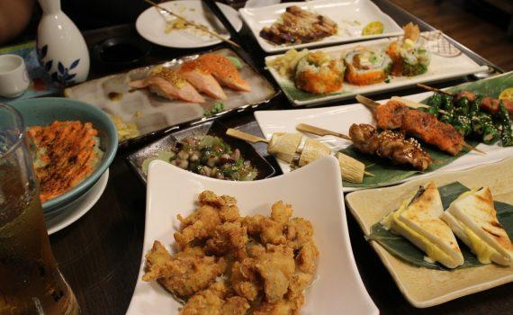 高CP北車日式居酒屋推薦【鮨老大日式料理】好吃生魚片、串燒、壽司、炸物,暢飲方案更是超愛 @秤瓶樂遊遊