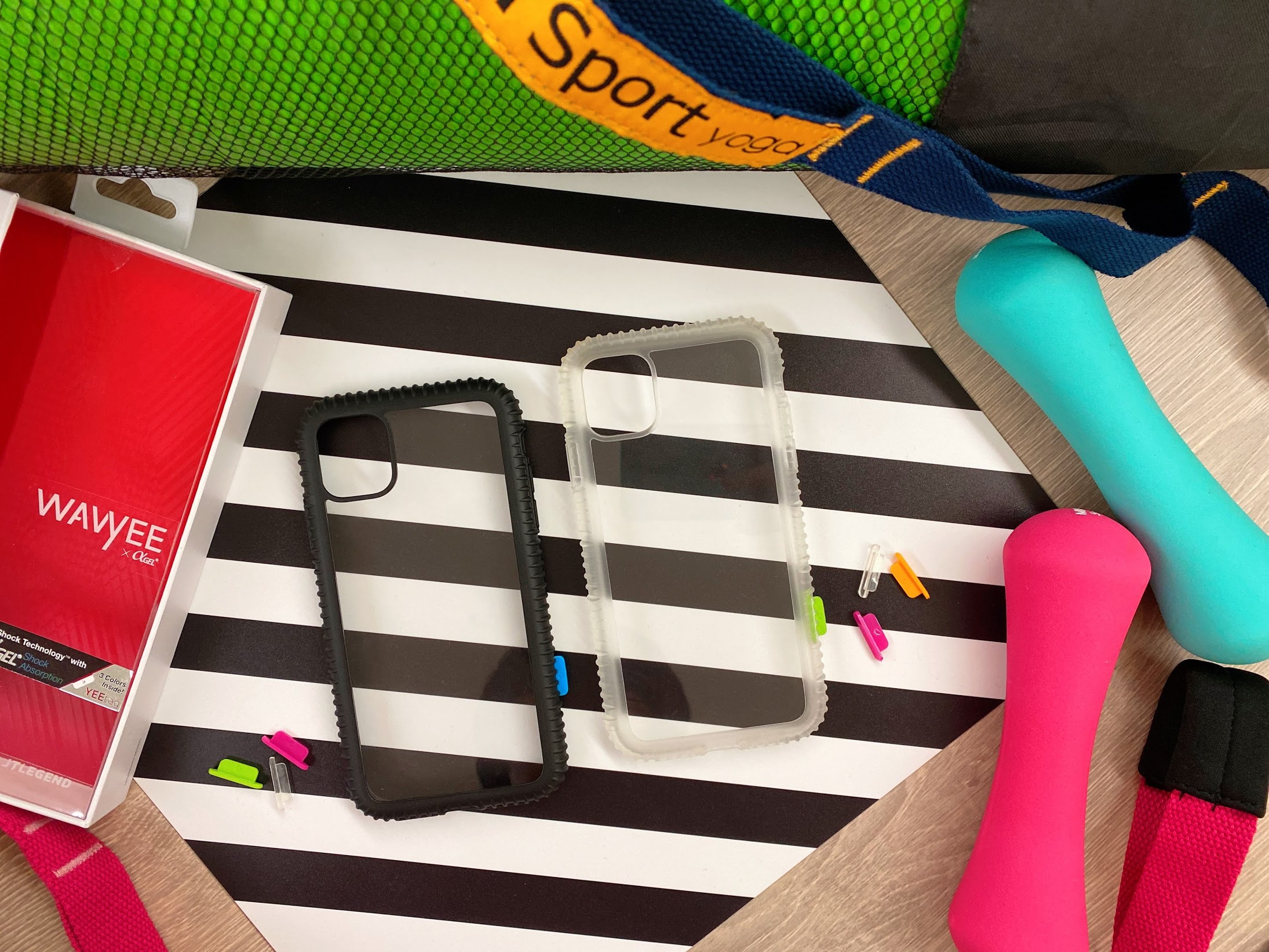 iPhone11手機殼開箱,JTLEGEND Wavyee 防摔保護殼、立架式雙料減震保護殼 @秤瓶樂遊遊