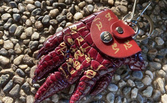 LONGLAI龍淶招財鱷魚爪造型零錢包