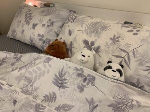 Annahome棉床本舖|碳化森林精梳棉床包組推薦,MIT台灣製造、透氣、滑順觸感舒適好眠 @秤秤樂遊遊