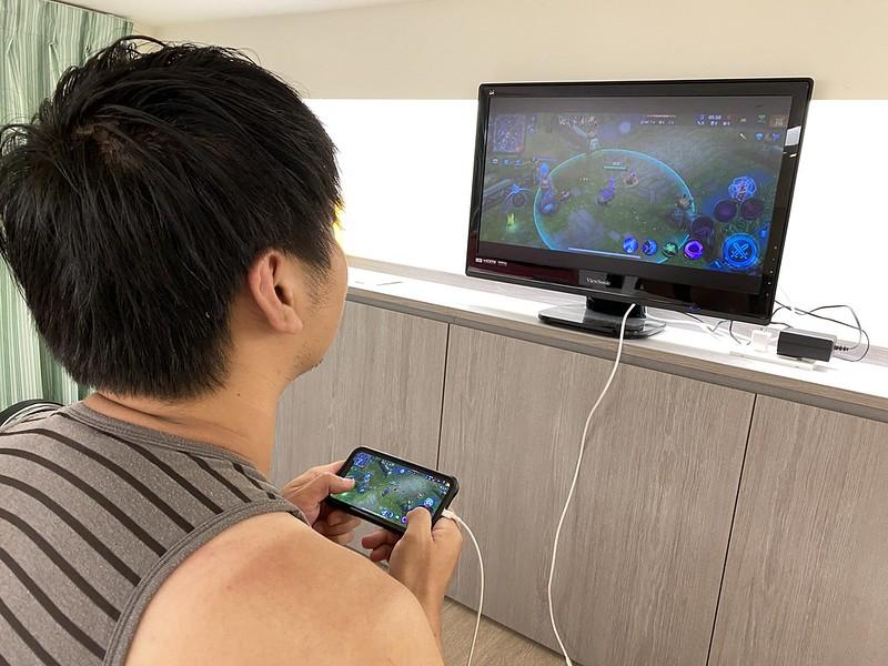 「Esense逸盛」手機HDMI接電視傳輸線-用大螢幕追劇、玩手遊就是爽 @秤瓶樂遊遊